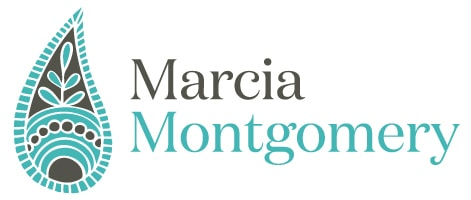 Marcia Montgomery, massage therapist, Logo